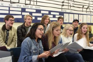 Vocal Ensemble students travel to perform in Disney World